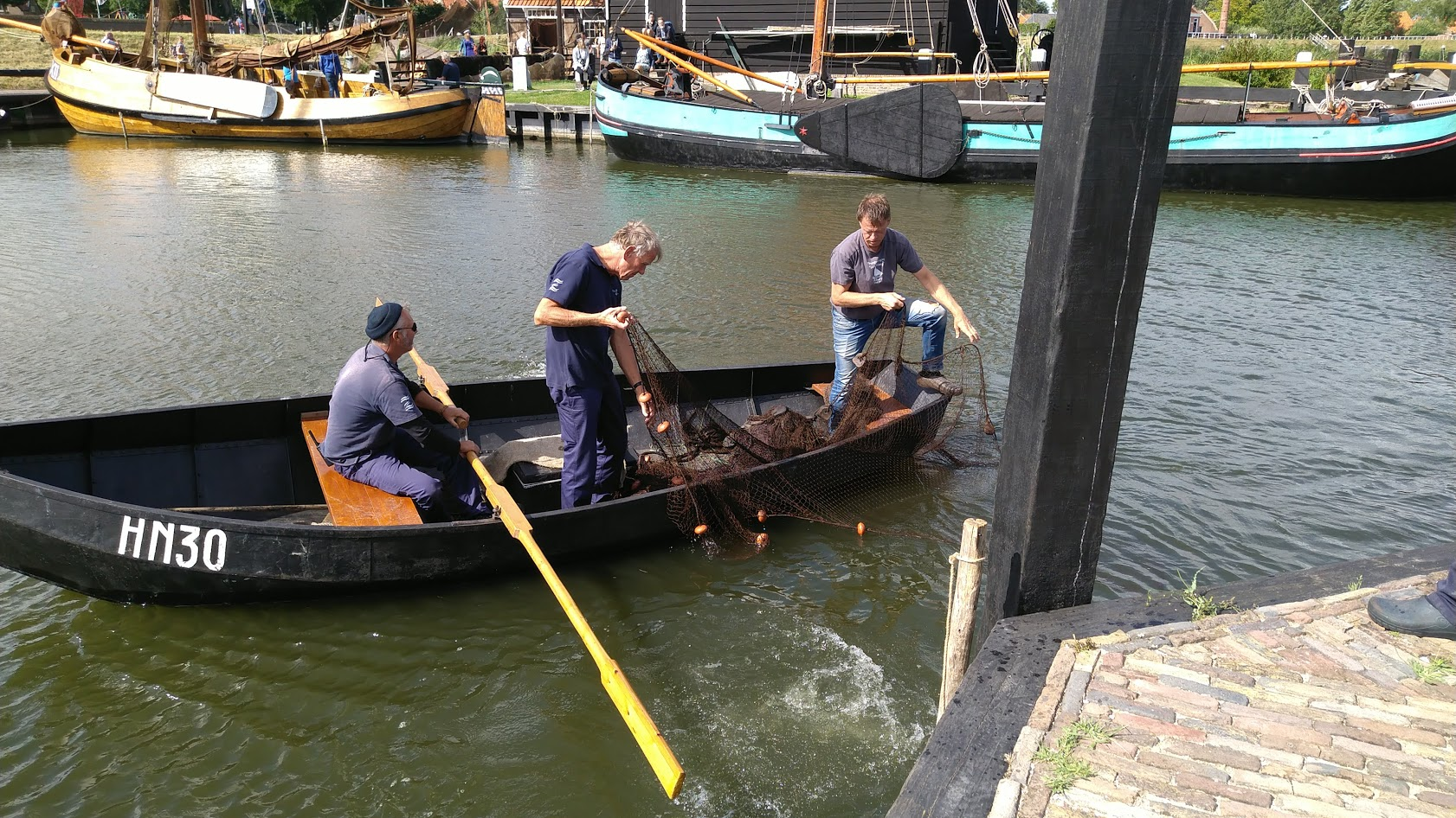 Fuikenboot HN30 in Zuiderzeemuseum